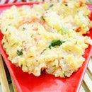 Rava Vegetable Upma in Microwave