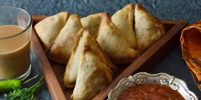 Baked Samosa Recipe – How to make baked samosa