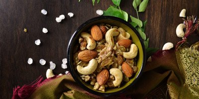 Dry Fruits namkeen recipe – how to make vrat ki namkeen using dry fruits