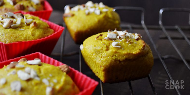Eggless Mango Muffins Recipe – Wholewheat Muffins Recipe