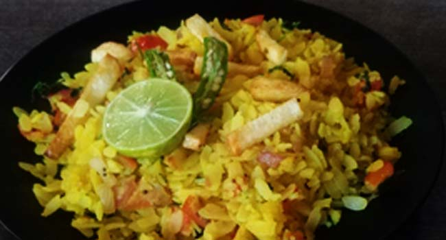 How to make Poha for easy healthy breakfast